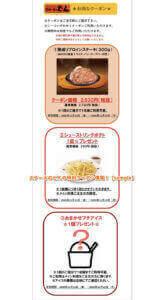 ステーキのどんの特別クーポン情報!【sample】