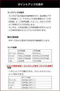 スエヒロ館会員証・ランクアップ条件【サンプル画像】