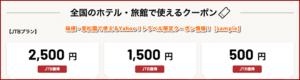 箱根・翠松園で使えるYahoo!トラベル限定クーポン情報!【sample】